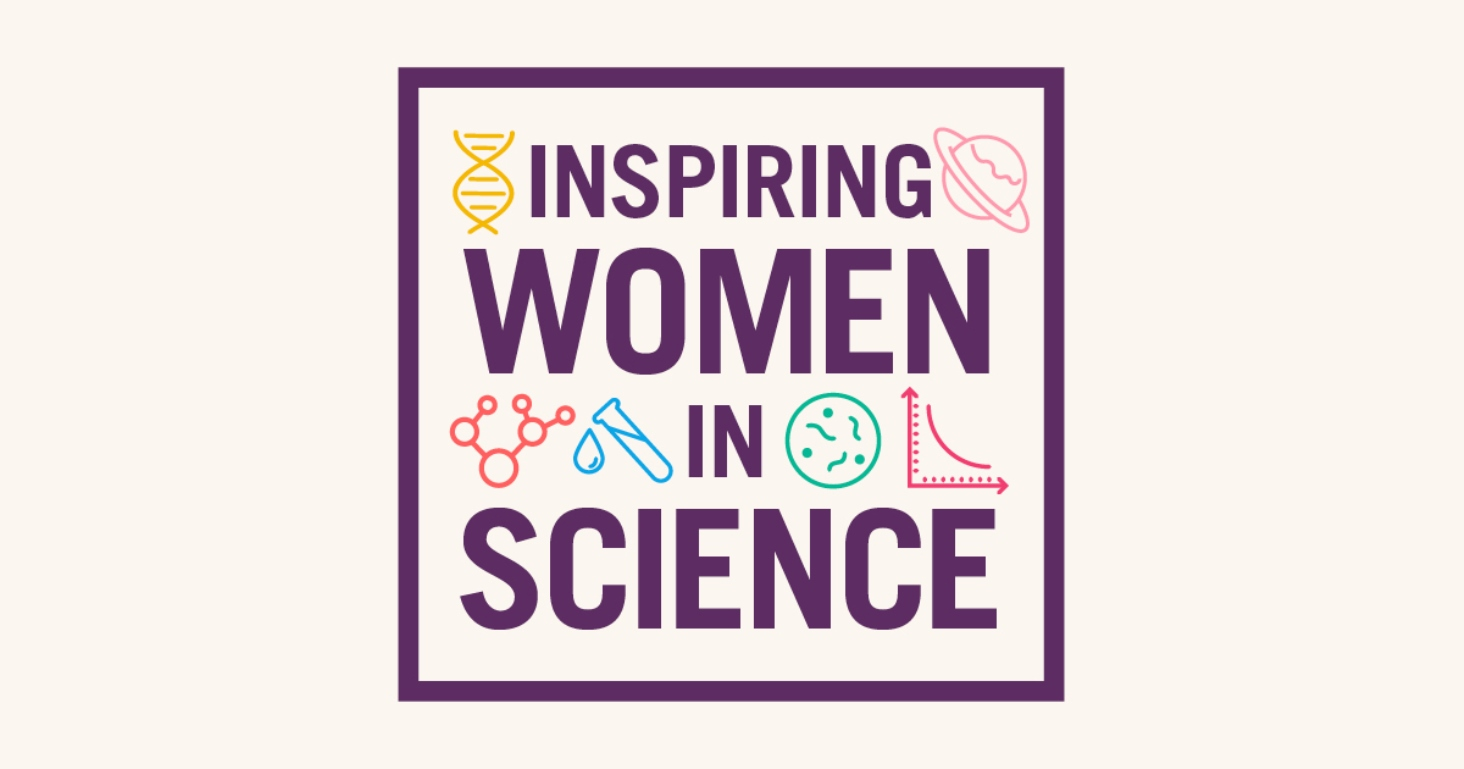 Inspiring Women In Science Logo