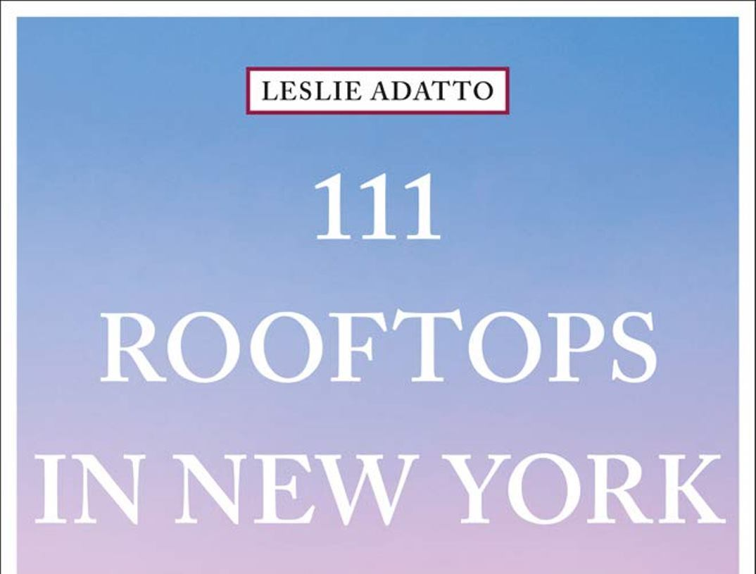 111 Rooftops in New York Cover
