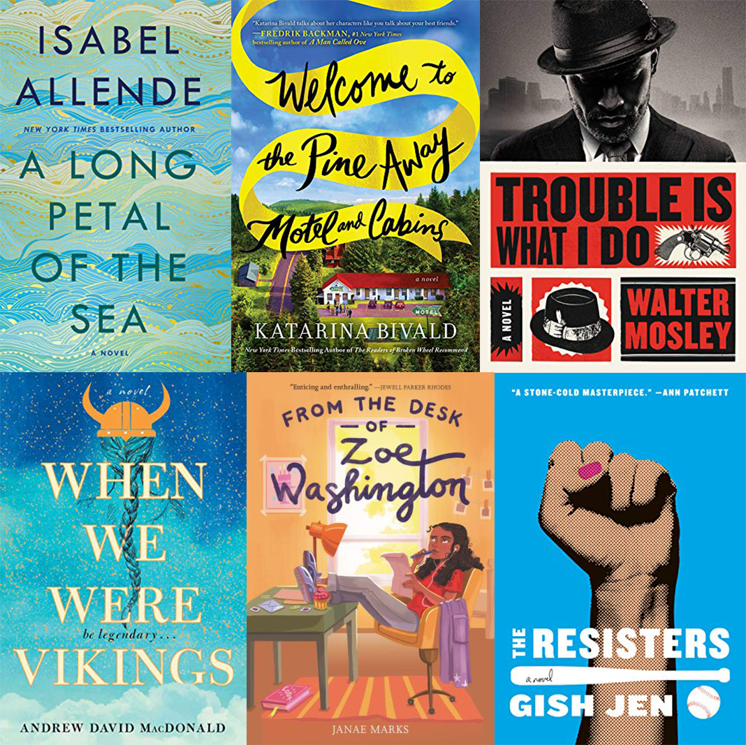 Hot New Book Releases in January and February