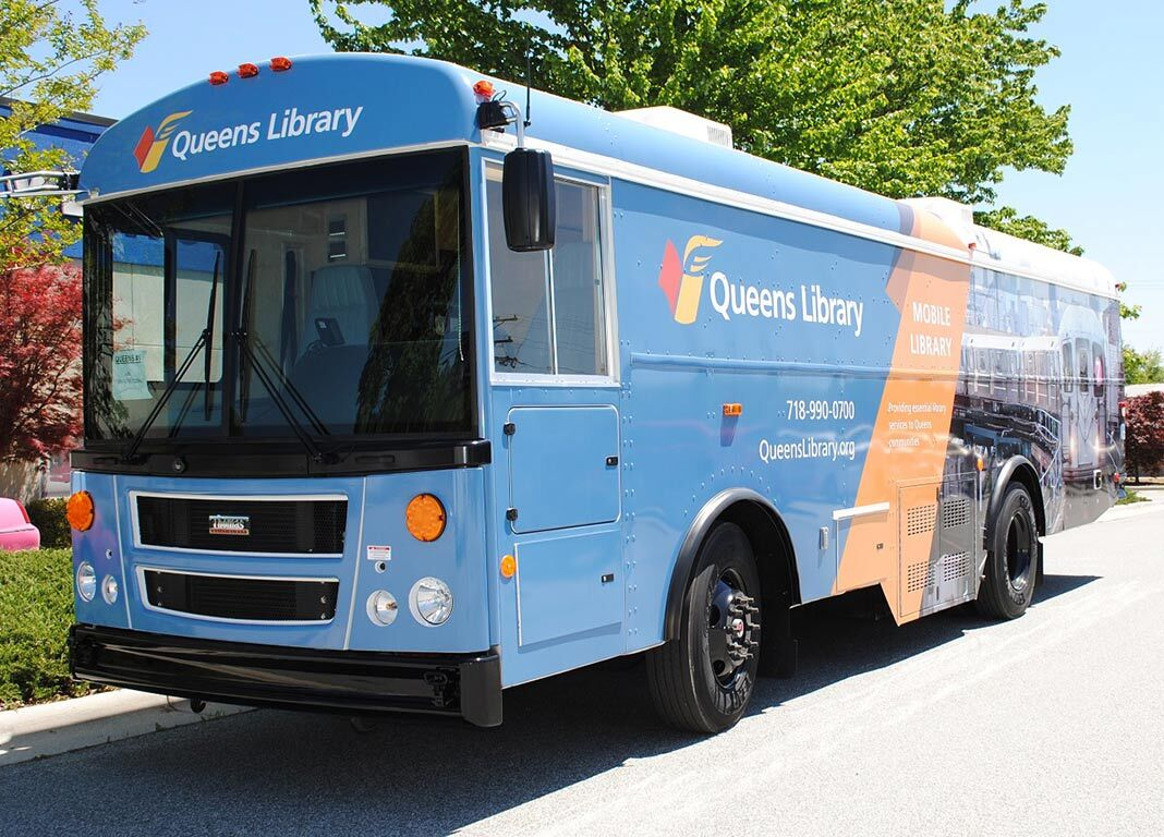 Mobile Library bus