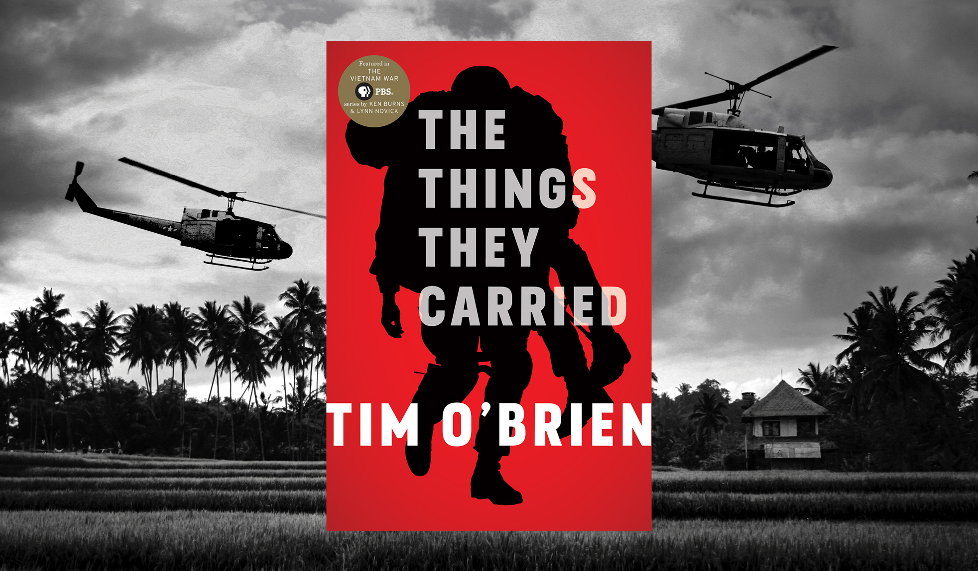 "Join us as we explore Tim O'Brien's ""The Things They Carried."""