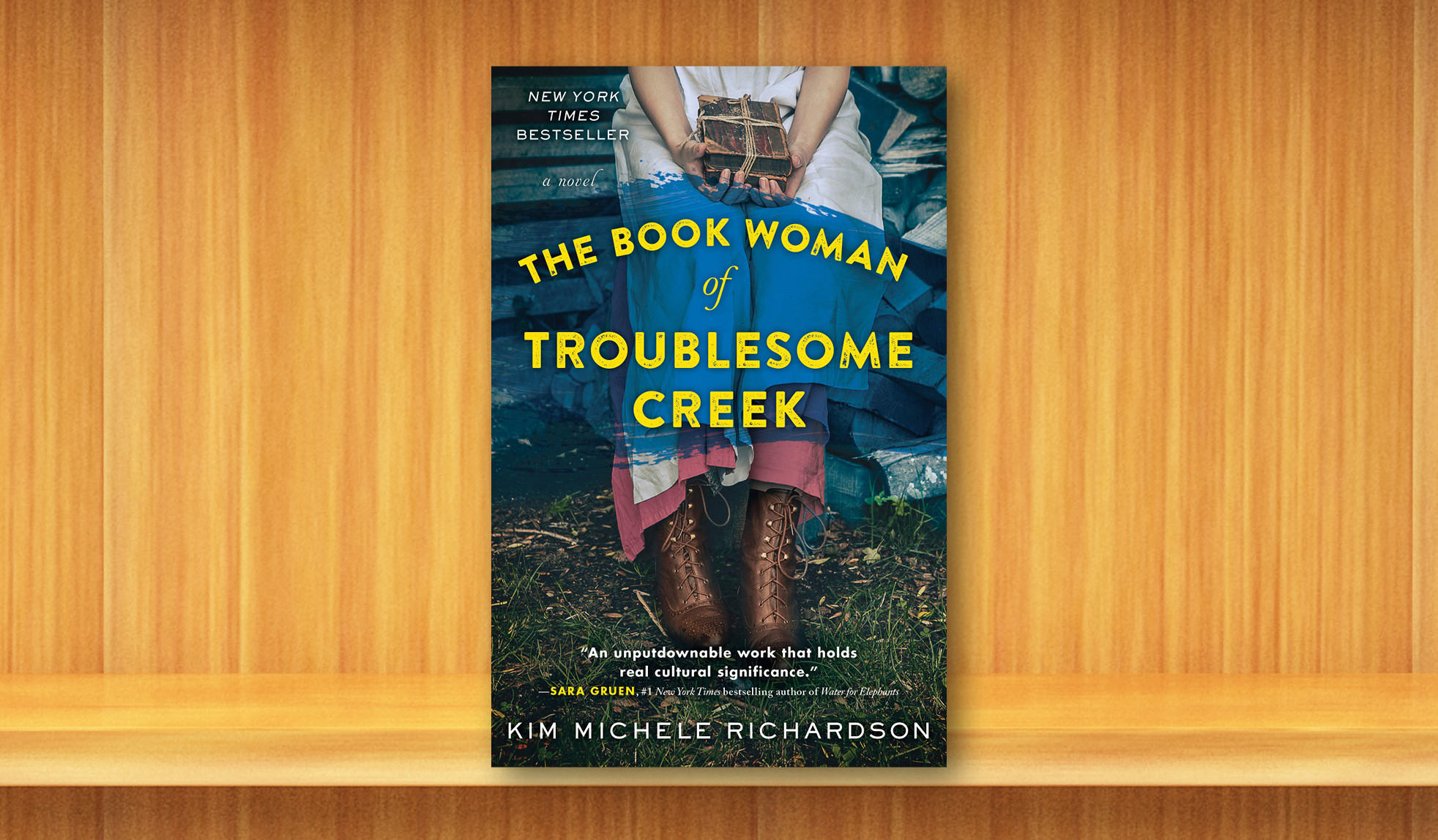 Join to access our January-March read, The Book Woman of Troublesome Creek!