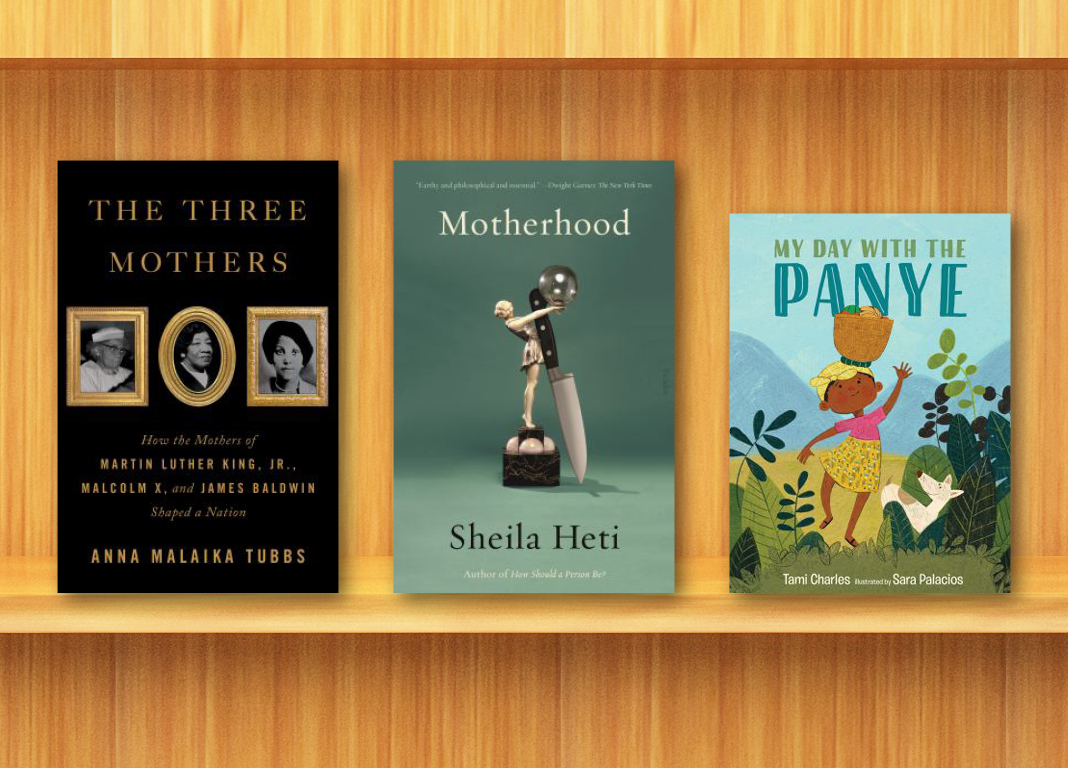 Book Covers for The Three Mothers, Motherhood, and My Day with the Panye
